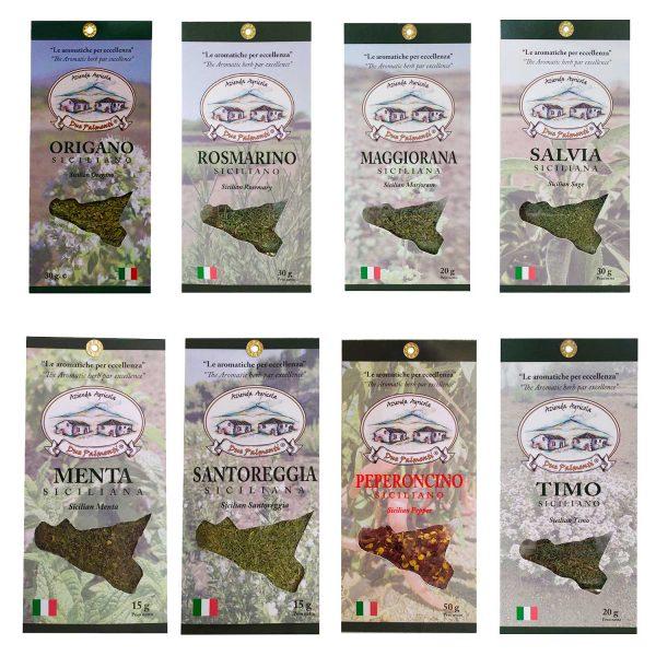 Kit erbe Aromatiche Siciliane